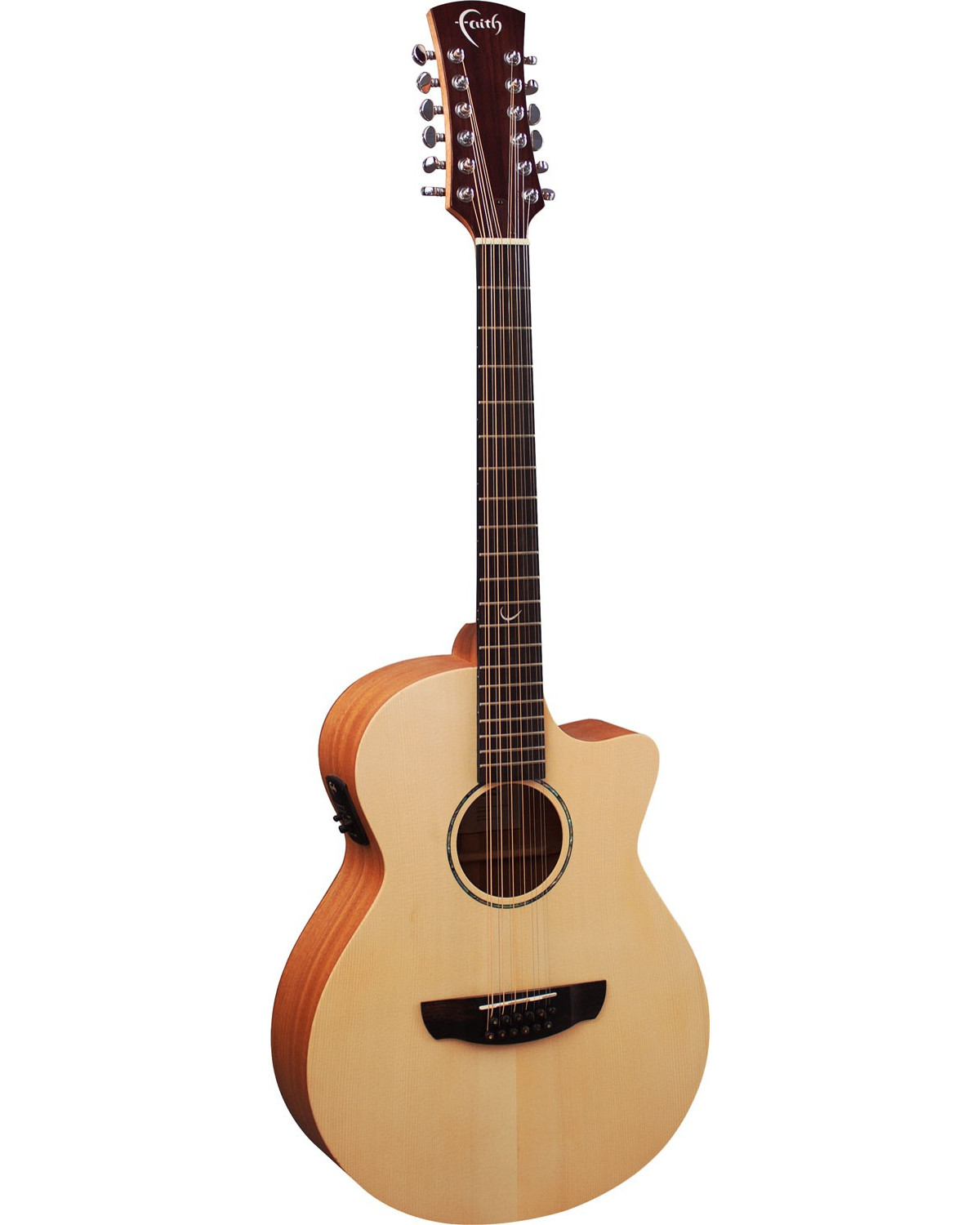 Faith Naked Venus 12 String Electro Acoustic Guitar