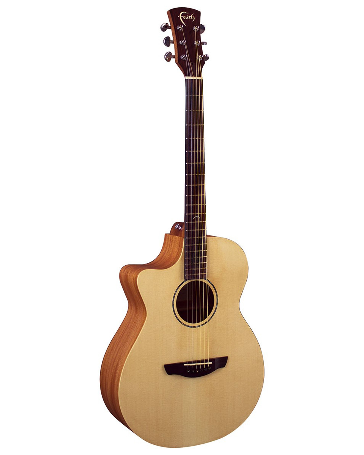 Faith Naked Venus Cutaway Electro  Left Handed Acoustic Guitar