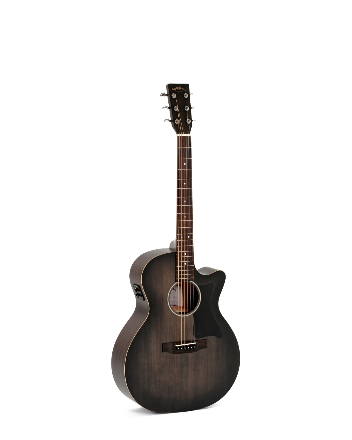Sigma GMC-STE-Black +Electro Acoustic Guitar